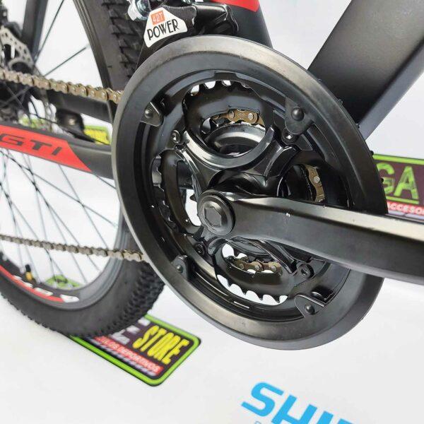 Bicicleta-guayaquil-mtb-montañera-talla-mega-bike-store-bike-shimano-gti-madrock-aluminio-rojo-negro