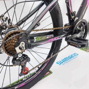 Bicicleta-guayaquil-mtb-montañera-talla-mega-bike-store-bike-shimano-gti-snap24-aro29-auminio-negro-morado