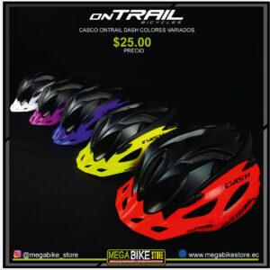 Bicicleta-guayaquil-mtb-montañera-talla-mega-bike-store-bike-shimano-casco-ontrail-dash-variados-colores
