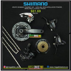 Bicicleta-guayaquil-mtb-montañera-talla-mega-bike-store-bike-shimano-grupo-catalina-tensor-descarrilador-pacha-manilares-cadena.