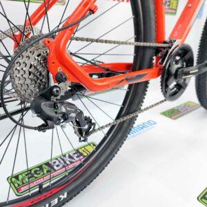 Bicicleta-guayaquil-mtb-montañera-talla-mega-bike-store-bike-shimano-gti-pro-3-aro-29-aluminio-negro-naranja.