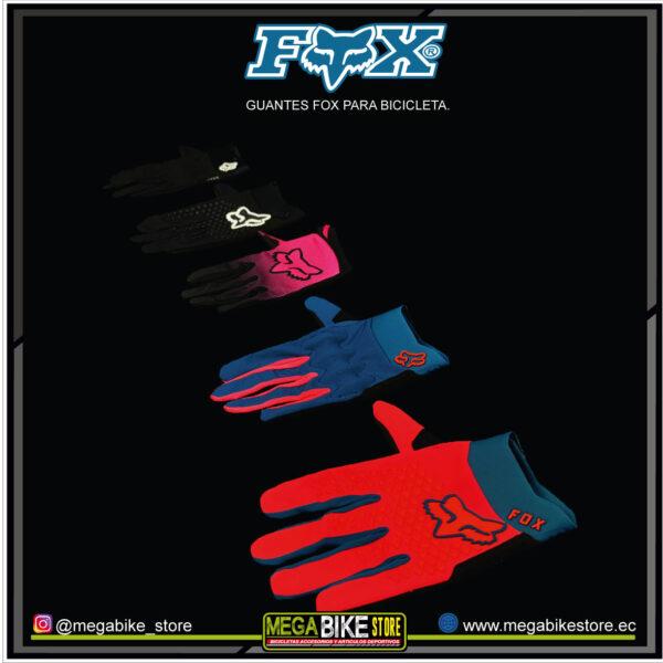 Bicicleta-guayaquil-mtb-montañera-talla-mega-bike-store-bike-shimano-guantes-fox-variados-colores.