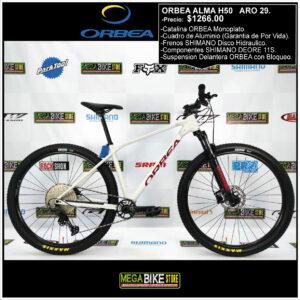 Bicicleta-guayaquil-mtb-montañera-talla-mega-bike-store-bike-shimano-orbea-alma-h50-aro-29-aluminio-rojo-blanco.