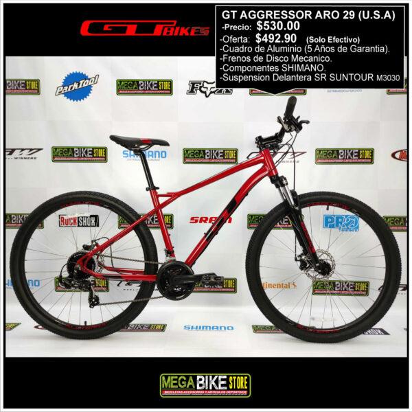 Bicicleta-guayaquil-mtb-montañera-talla-mega-bike-store-bike-shimano-gt-aggressor-aro-29-alumunio-negro-rojo.