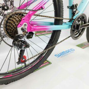 Bicicleta-guayaquil-mtb-montañera-talla-mega-bike-store-bike-shimano-gti-snap-aro-20-aluminio-morado-turquesa.