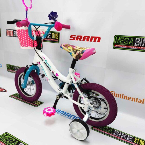 Bicicleta-guayaquil-mtb-montañera-talla-mega-bike-store-bike-shimano-gw-bugs-aro-12-aluminio-morado-blanco.