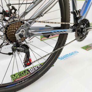 Bicicleta-guayaquil-mtb-montañera-talla-mega-bike-store-bike-shimano-gw-scorpion-aro-29-aluminio-gris-azul.