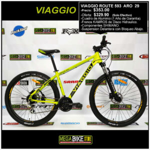 Bicicleta-guayaquil-mtb-montañera-talla-mega-bike-store-bike-shimano-viaggio-route-593-aro-29-negro-amarillo