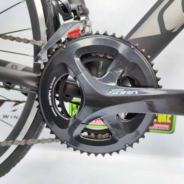 Bicicletas-talla-aro-700-mega-bike-store-bike-ruta-carrera-shimano-triatlón-gw-k2-aro-700-aluminio-negro