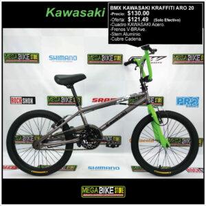 Bmx-odyssey-cult-bicicletas-freestyle-Sunday-guayaquil-aro-20-megabike-kawasaki-kraffiti-aro-20-acero-verde-gris.