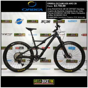 Bicicleta-guayaquil-mtb-montañera-talla-mega-bike-store-bike-bicicletas-orbea-shimano-orbea-occam-aro-29-carbono-fox