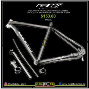 Bicicleta-guayaquil-mtb-montañera-talla-mega-bike-store-bike-shimano-cuadros- de -bicicletas-de-montaña-29-gw-hawk-aluminio-aro-29-negro-gris