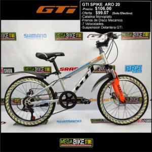 Bicicleta-guayaquil-mtb-montañera-talla-mega-bike-store-bike-bicicletas-gti-ecuador-shimano-gti-spike-aro-20-acero