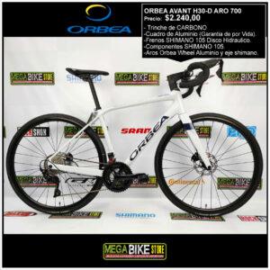 Bicicletas-talla-aro-700-mega-bike-store-bike-ruta-carrera-shimano-triatlón-orbea-avant-h30-2019-aluminio-shimano-105